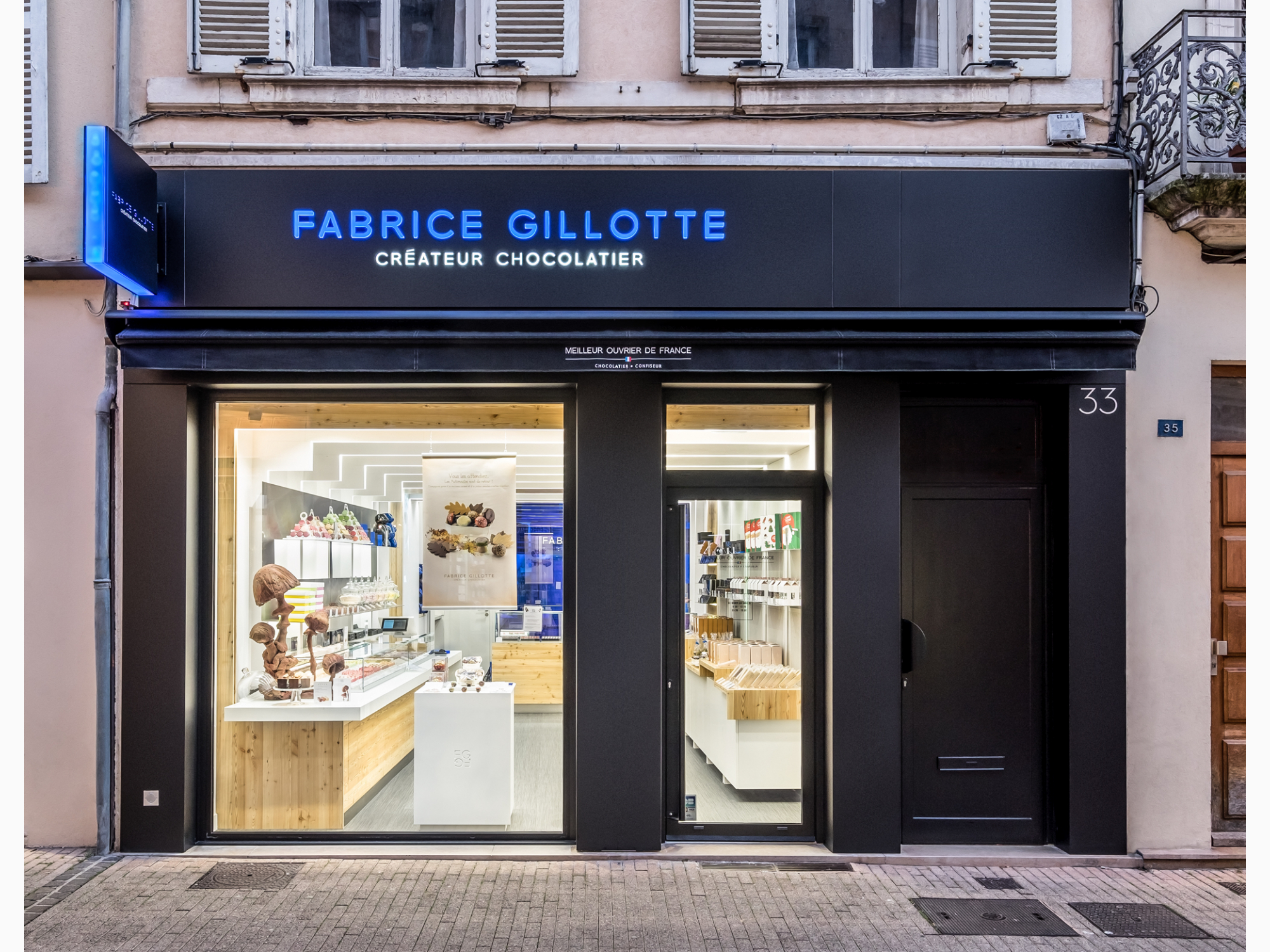 chocolatier Beaune Fabrice Gillotte