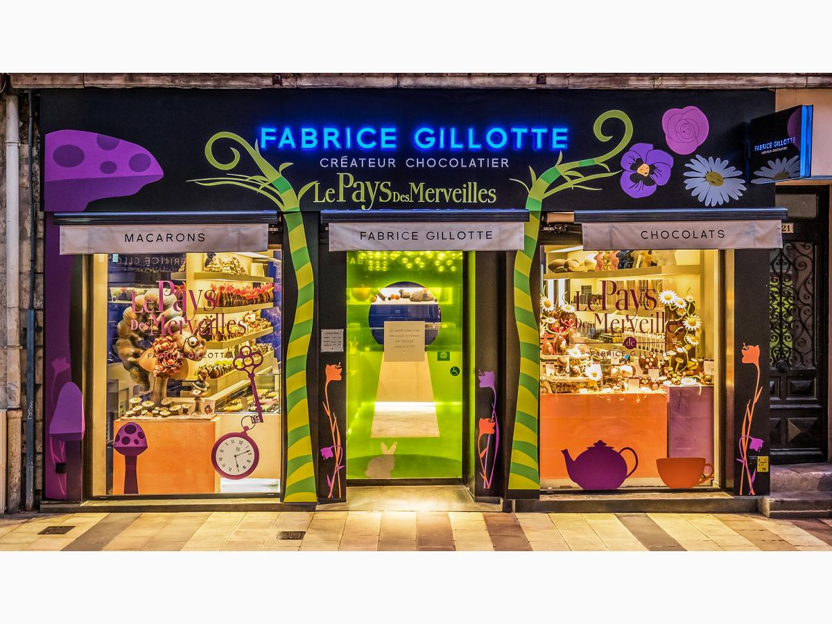 ALICE ET LA CHENILLE - LES SCULPTURES - FG Fabrice Gillotte