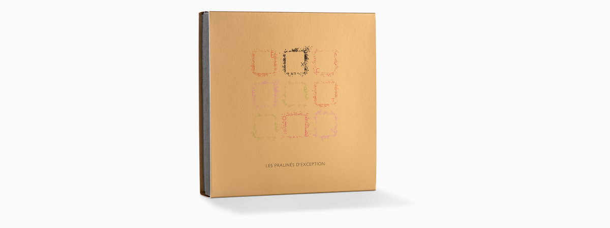 LES PRALINÉS D'EXCEPTION - COFFRETS DE CHOCOLATS - FG Fabrice Gillotte