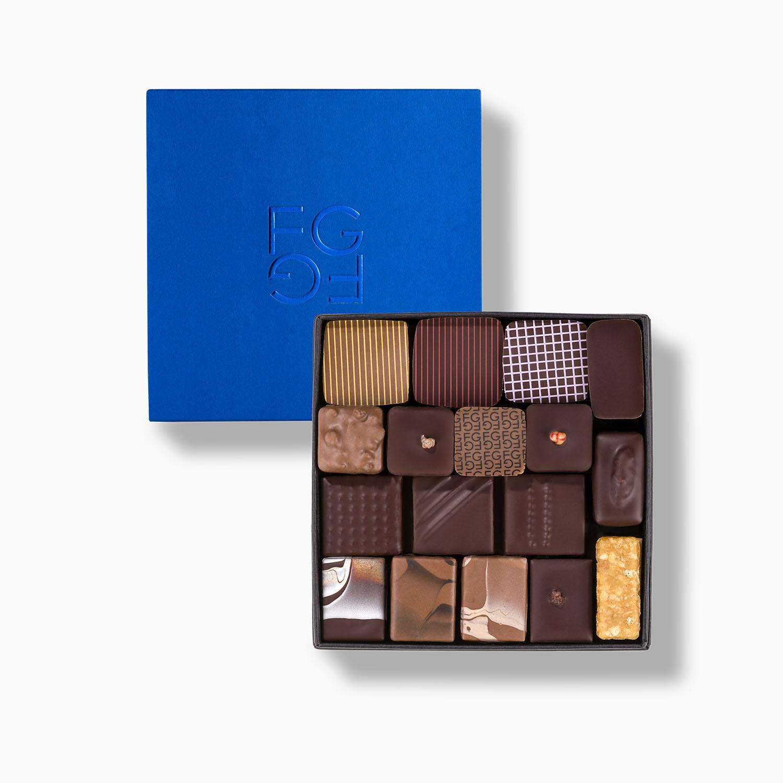 Coffret Chocolat Entreprise Cadeau Fabrice Gillotte